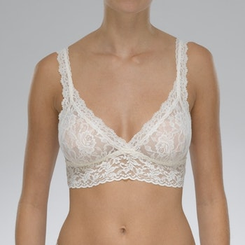Bh Signature Lace Bralette Ivory - Hanky Panky