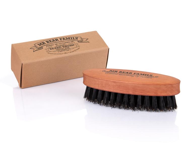 Skäggborste Beard Brush Travel Size - Mr. Bear Family