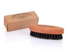 BEARD BRUSH TRAVEL SIZE - MR BAER FAMILY