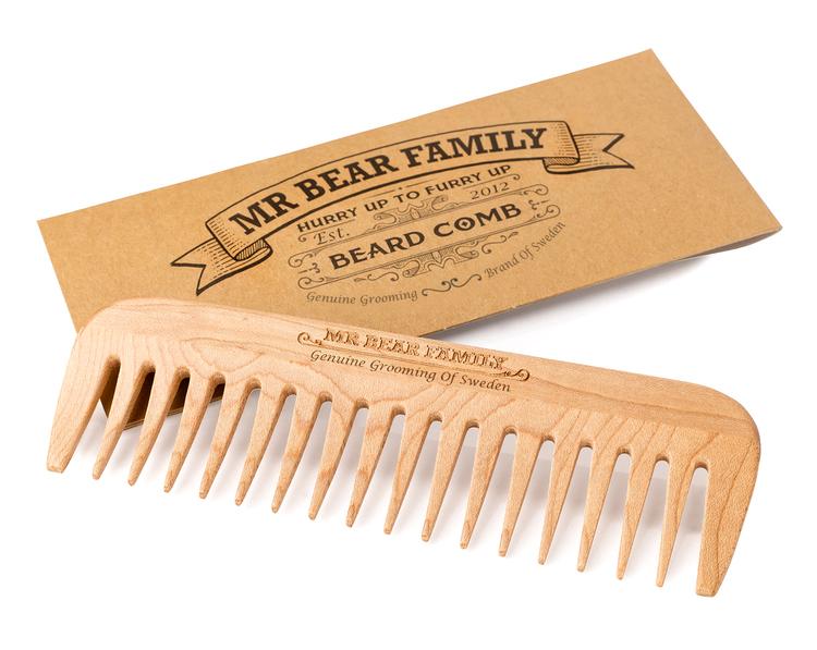 Skäggkam Beard Comb - Mr. Bear Family