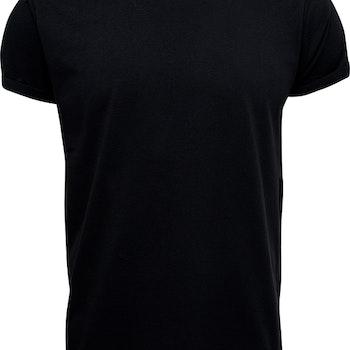 T-shirt Jimmy Solid Black - Resteröds