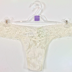 Signature Lace Low Rise Ivory- Hanky Panky