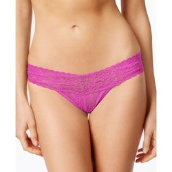 Signature Lace Low Rise Hallon Rosa- Hanky Panky