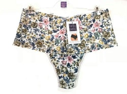 Retro Lace Thong Heirloom Blooms- Hanky Panky
