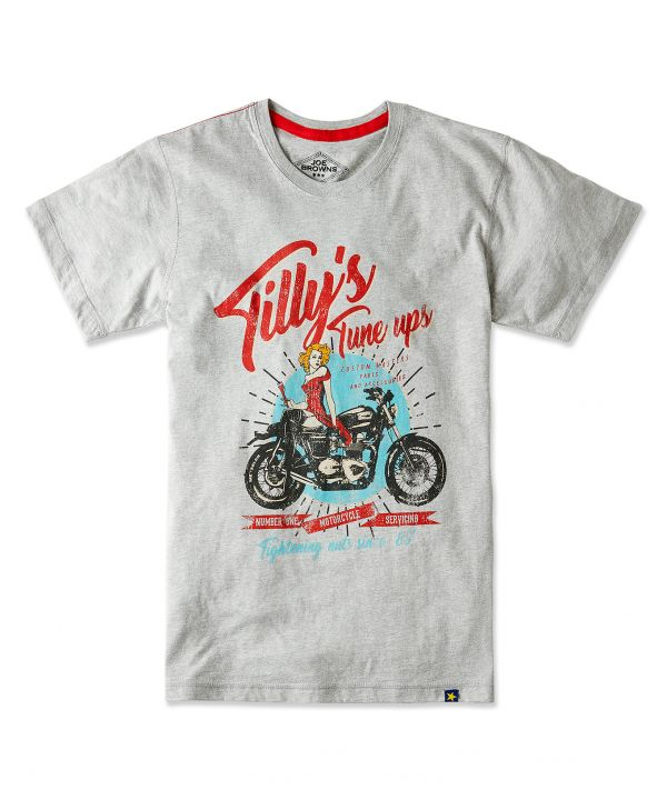 T-Shirt Tilly's Tune Up - Joe Browns