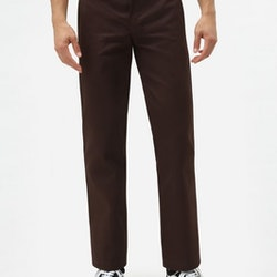 Byxor slim fit 873 Work Pant Chocolate Brown - Dickies