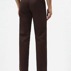 Byxor slim fit 873 Work Pant Chocolate Brown - Dickies