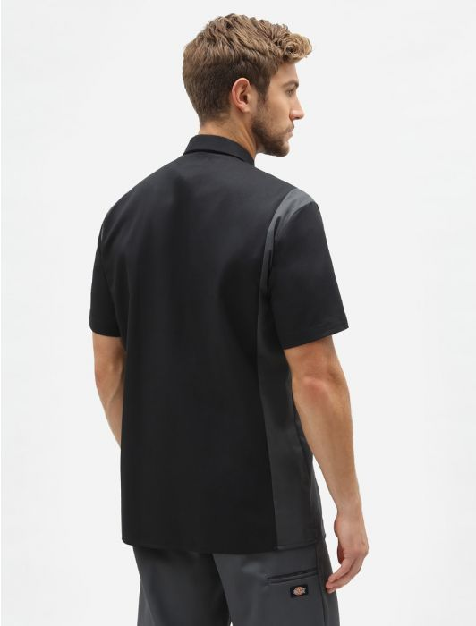Skjorta Two Ton work Black/Grey - Dickies