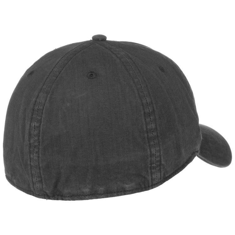 Keps Baseball Delave Organic Cotton Black - Stetson