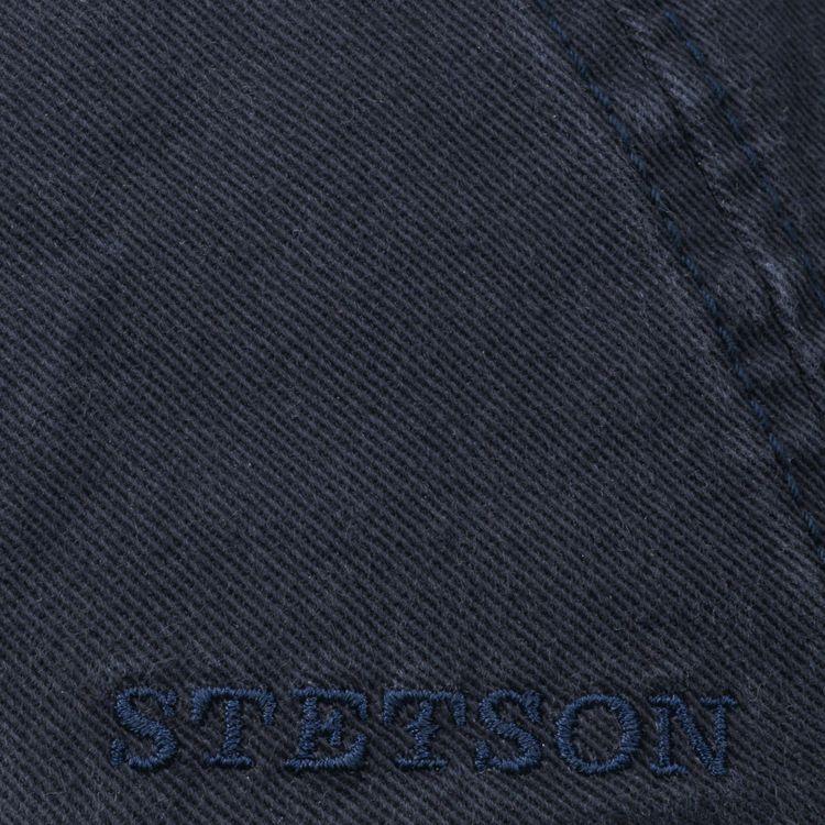 Keps Ivy Cap Cotton Navy - Stetson