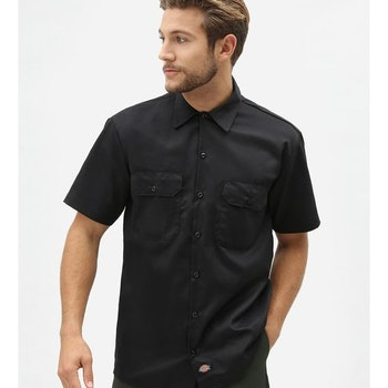 Skjorta workshirt ss Black -  Dickies