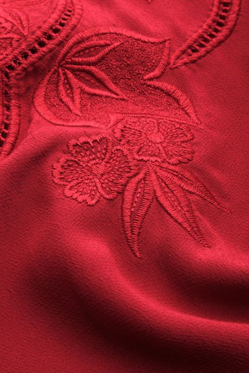 Blus Carina Bellezza cherry red -  King Louie