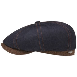 Keps Ivy Cap Cotton Navy - Stetson