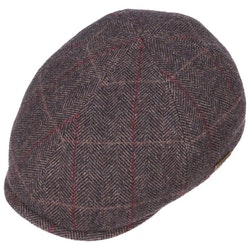 Keps Duck Cap Wool Brown - Stetson