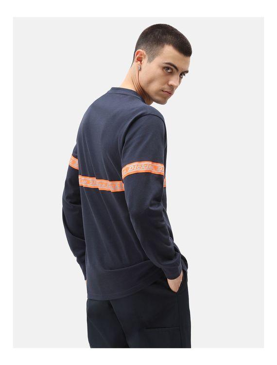 T-Shirt lång ärm West Ferriday Blue - Dickies