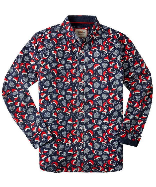 Skjorta Beardie Santa Shirt  - Joe Browns