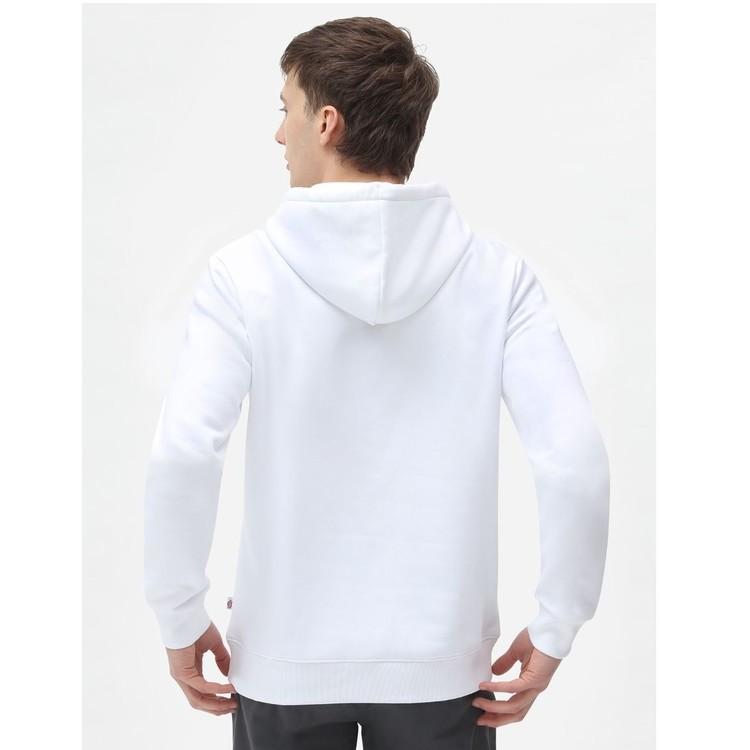 Hoddie ICON logo White - Dickies