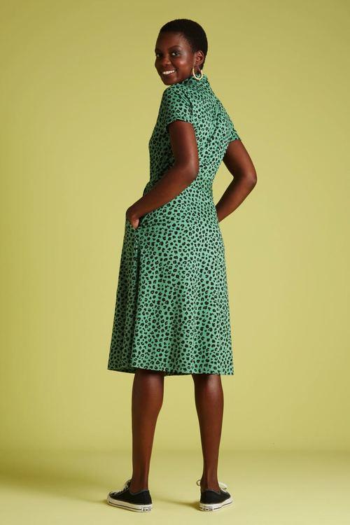Klänning Olive Bobcat Green -  King Louie