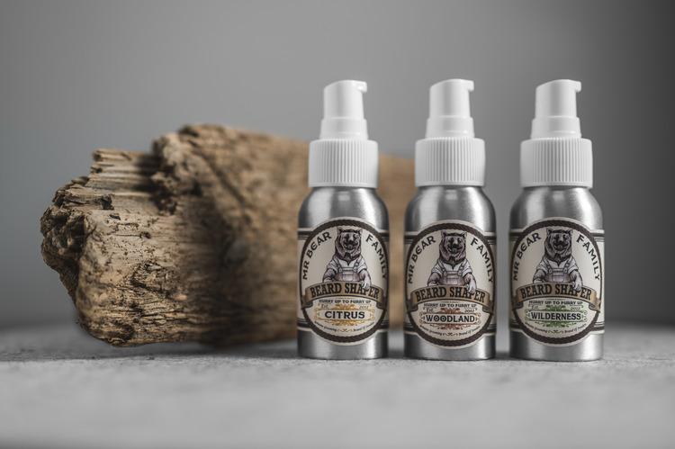 Beard Shaper Woodland - Mr. Bear Family