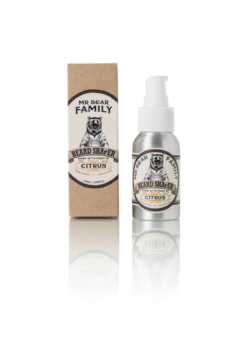 Beard Shaper Citrus - Mr. Bear Family
