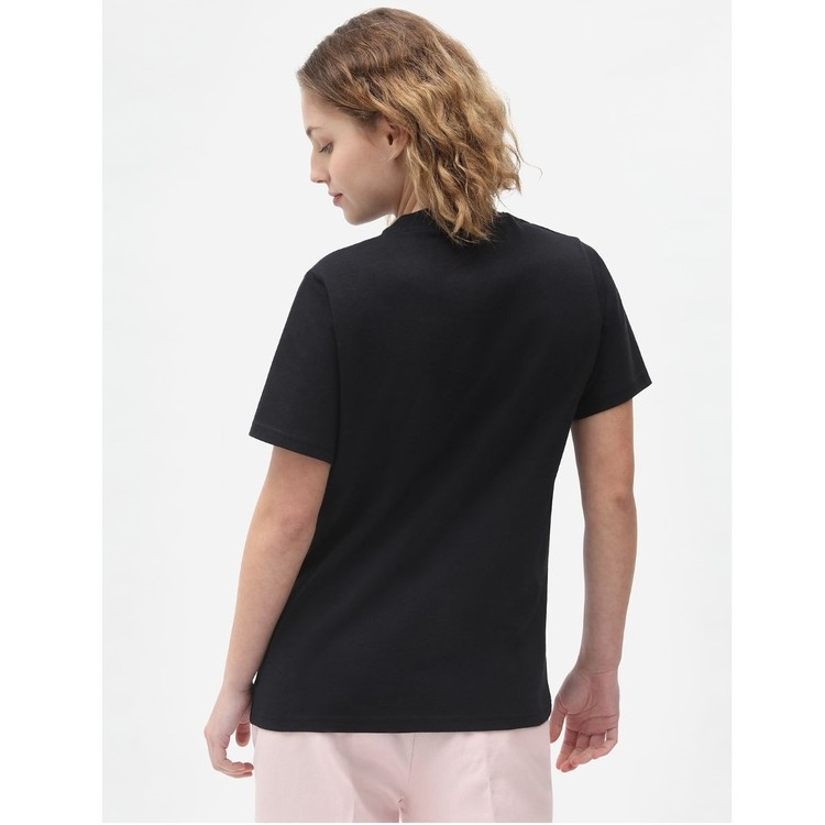T-Shirt ICON logo Black women - Dickies