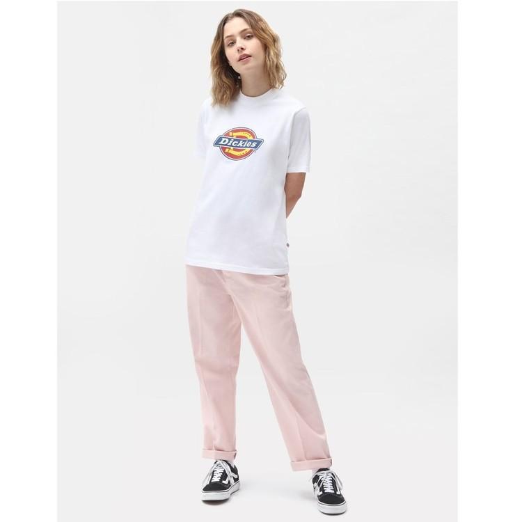 T-Shirt ICON logo white woman - Dickies