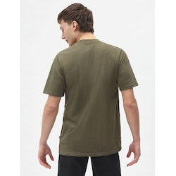 T-Shirt ICON logo Military Green - Dickies