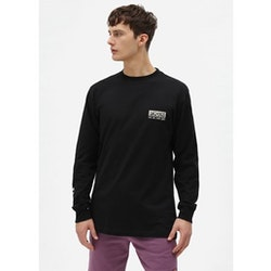T-Shirt Långärm Willernie Black - Dickies