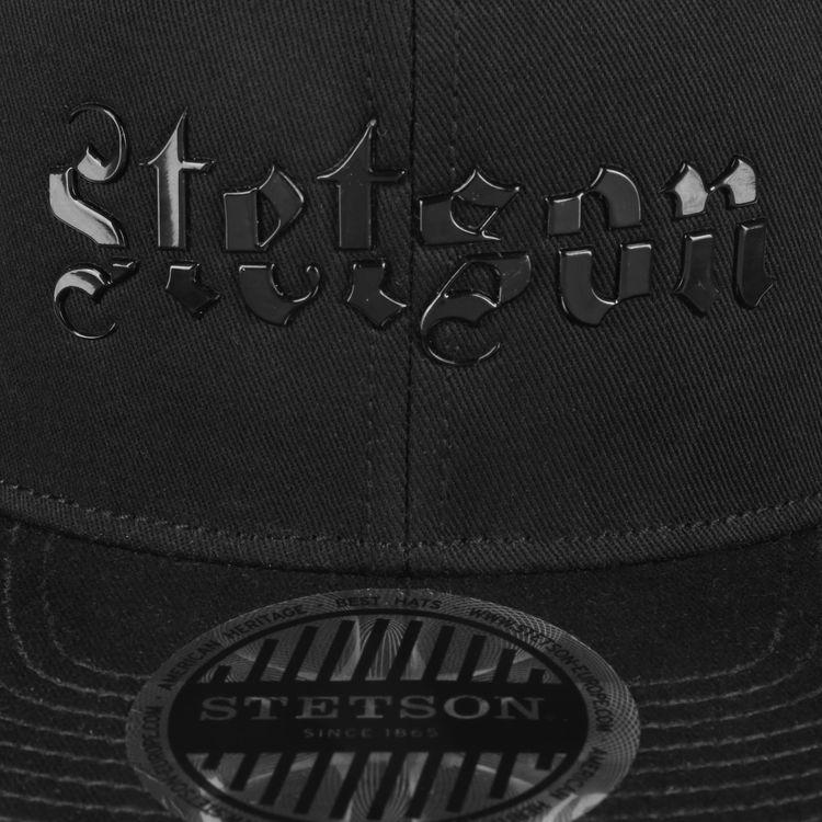 Keps Baseball Lettering Black - Stetson