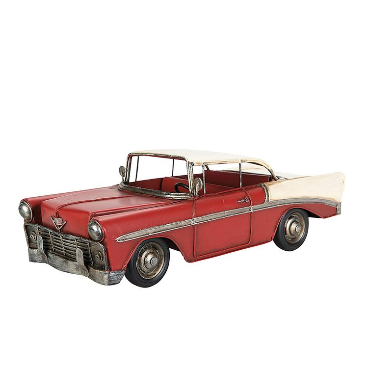 Bil Chevy Metall Röd