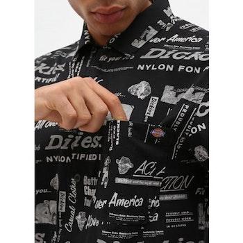 Skjorta Pilliager Black- Dickies