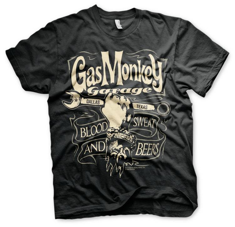 T-shirt Wrench Label -  Gas Monkey Garage