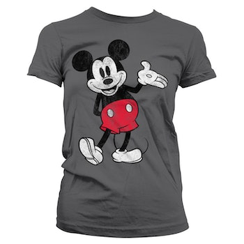 T-shirt Micky Mouse Distressed - Micky Mouse
