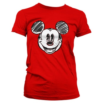 T-shirt Pixelated sketch - Mickey Mouse