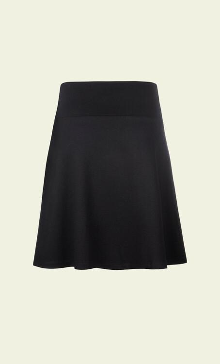 Kjol Border Skirt Milano Uni black - King Louie