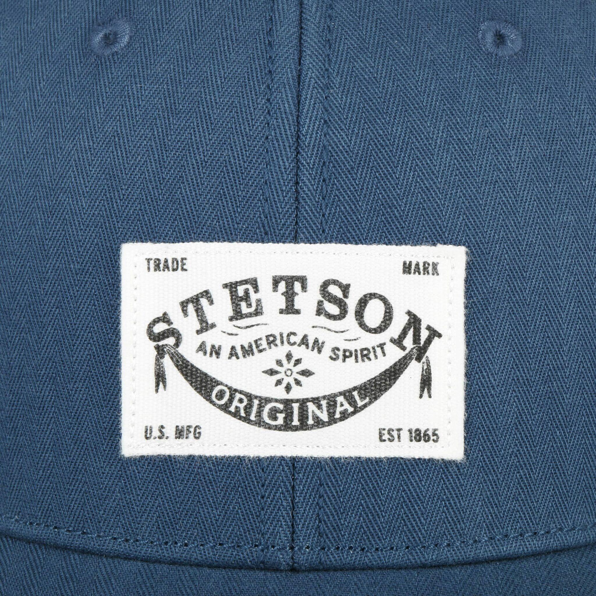 Keps Baseball Cotton Harringbone - Stetson