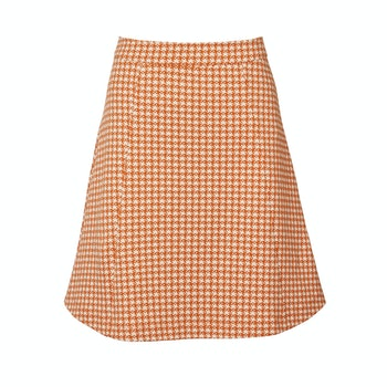 Kjol Madeleine Orange - Jumperfabriken