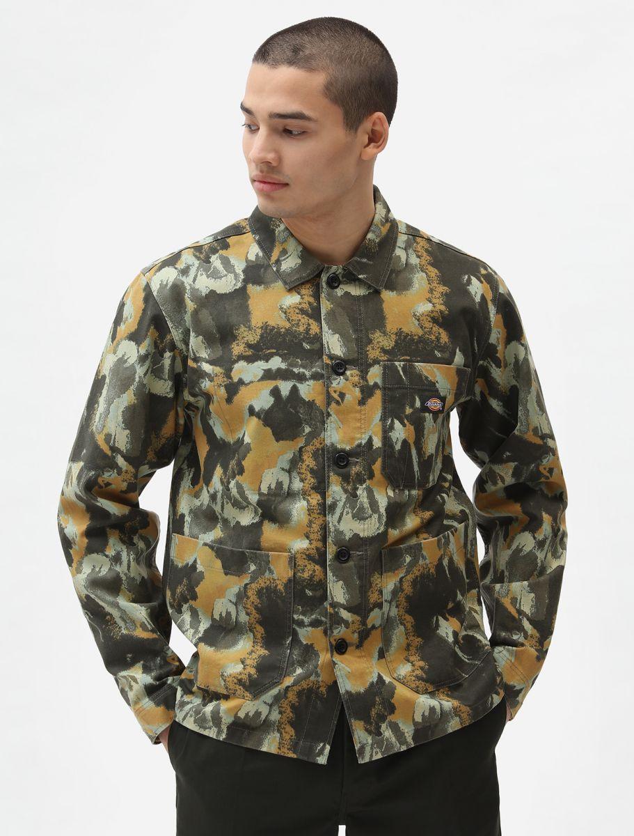 Skjorta Overshirt Crafted Camo - Dickies