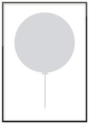Grå ballong 50%