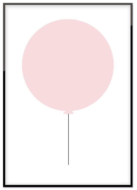 Rosa ballong