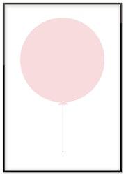 Rosa ballong 50%