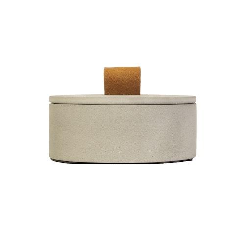 Stor ask betong med loop