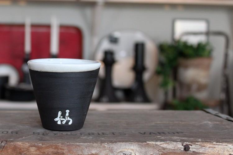Liten kaffekopp - Svart