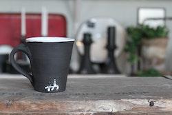 Espressokopp - Svart