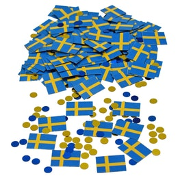 Konfetti - Sverige