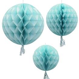 Honeycombs - Ljusblå