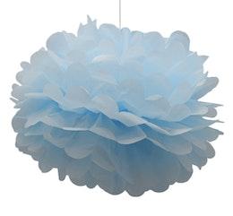 Pom pom - Ljusblå