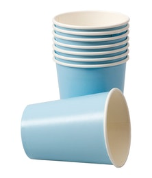 Pappersmuggar - Ljusblå