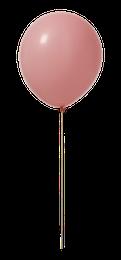 Ballonger - Ljusrosa