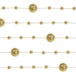 Pärlgirlang - Guld